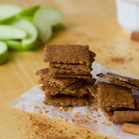 Apple Pie Crackers (Grain-free + Nut-free)