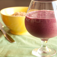 Sleepy Berry Fiberlicious Smoothie