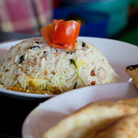 Flavors of India: Egg Biryani (Egg Fried Rice)