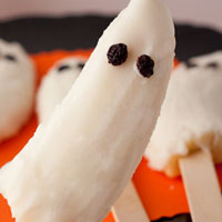 Frozen &#8220;Boo&#8221;nana Pops (no sugar added)