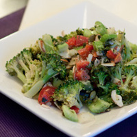 Thumbnail image for Calci-yum Broccoli and Kale Chip Salad
