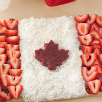 Thumbnail image for Canada Day Dessert Pizza