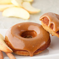 Caramel Apple Doughnuts
