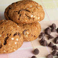 Sweet Potato Carob Chip Cookies