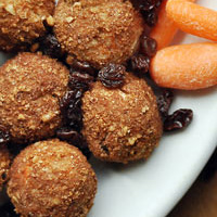 Thumbnail image for Carrot Cake Doughnut Holes {guest post}