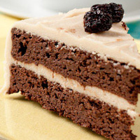 Rich Chocolate Quinoa Cake with Vanilla Buttercream Frosting