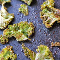 Chocolate Kale Chips with For The Love of Food
