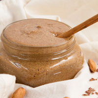 Cinnamon Roll Flax Almond Butter