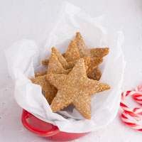 Grain-free Christmas: Butter Tarts and Cinnamon Stars