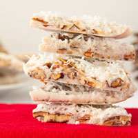 Coconut Almond Bark (no sugar added)