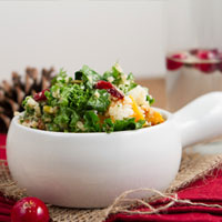 Grain-free Cranberry Pecan Pilaf