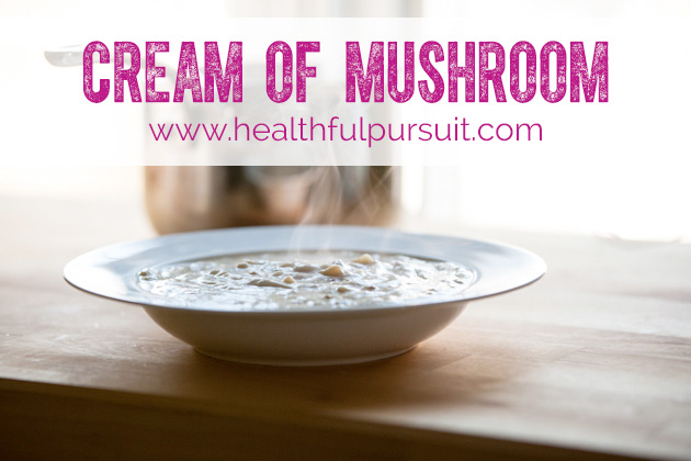 Vegan Cream Of Mushroom Soup With Not So Vegan Herb Bread Recipe ...