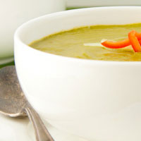Pump up your Greens 'Creamed' Soup