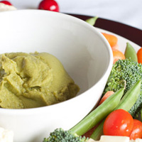 Thumbnail image for Spicy Cilantro Hummus
