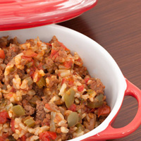 Thumbnail image for No Fuss Jambalaya Bake