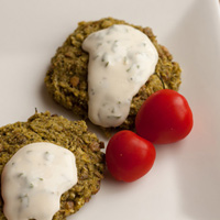 Green and Clean Pesto Lentil Patties