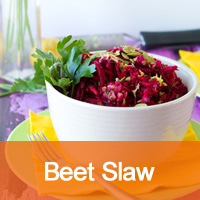 Brilliant Beet Slaw