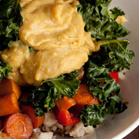 Coconut Curry + Miso Gravy Luscious Bowls