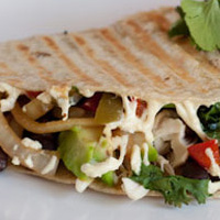 Dinner in 10: Jalapeno Chicken Quesadilla
