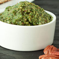 Thai Basil Pecan Pesto