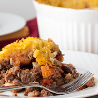 Paleo Picadillo Casserole + How to Peel and Roast Butternut Squash