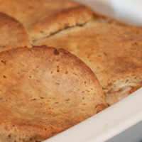 Thumbnail image for Biscuit Topped Chicken Pot Pie