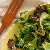 Pumpkin Seed and Herb Salad