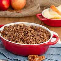 Apple Pie Quinoa Breakfast Casserole + Blogiversary Giveaway