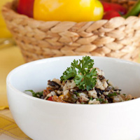 Saweet Pecan and Wild Rice Salad