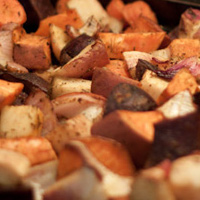 Thumbnail image for Roasted Vegetables with Balsamic Marinade