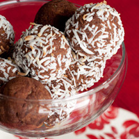 Cleanse Breaking Coconut Rum Balls