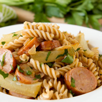 Fennel and Sausage Pasta Salad