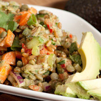 Thumbnail image for Refreshing Cilantro Lime Spelt Berry Salad