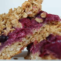 Berry Bliss Oat Bars {guest post}
