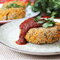 Power Posse: Vegan Sweet Potato Falafel Cakes