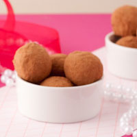 Gift for Mom: Pea-not Chocolate Truffles
