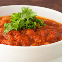 Crock-Pot Turkey & Navy Bean Pumpkin Chili
