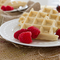 Ain't No Sugar In My Waffles…. Waffles