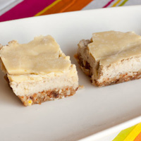 Raw Blonde Nanaimo Bars