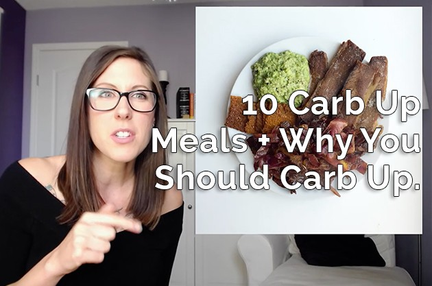 10 Carb Up Meals #lowcarb #keto #carbup #hflc #ketogenic