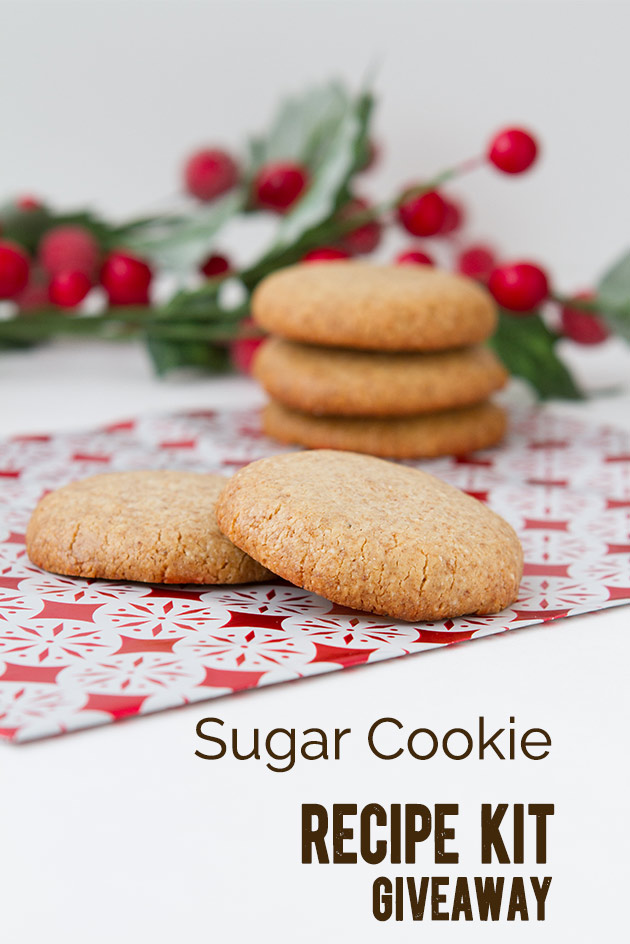 Sugar Cookies Recipe from Christmas Dessert Freedom Cookbook #paleo #grainfree #glutenfree #christmas #vegan