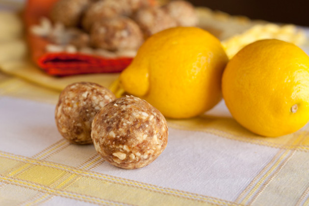 Raw Cashew Lemon Drops and Cleansing