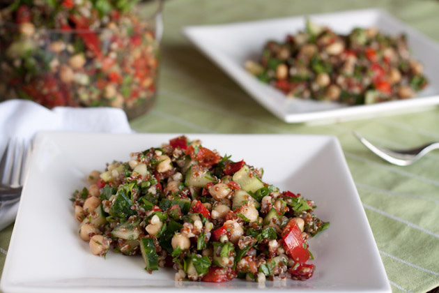 Light Quinoa and Avocado Tabbouleh Verrines | Healthful ...