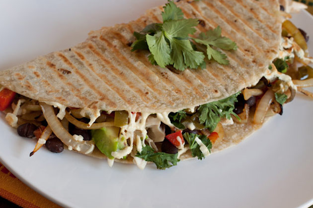 Spicy Chicken Avocado Quesadilla3