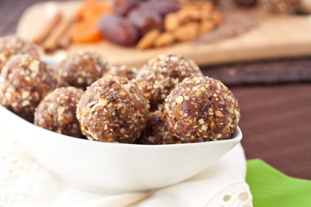 Spiced Flax Balls