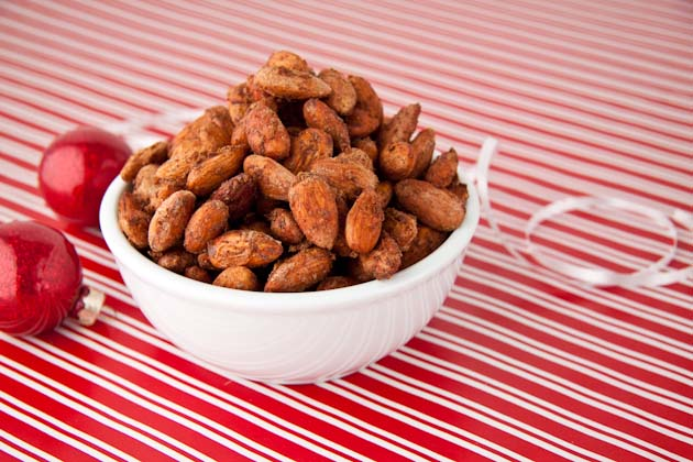 Chai Spice Roasted Almonds
