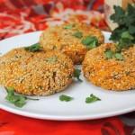 Vegan Sweet Potato Falafel Cakes