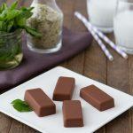 Peppermint Hemp Fat Fudge #keto #lowcarb #highfat #vegan #lowcarb #dairyfree #paleo