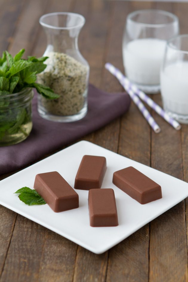 Peppermint Hemp Fat Fudge #keto #lowcarb #highfat #vegan #lowcarb #dairyfree #paleo