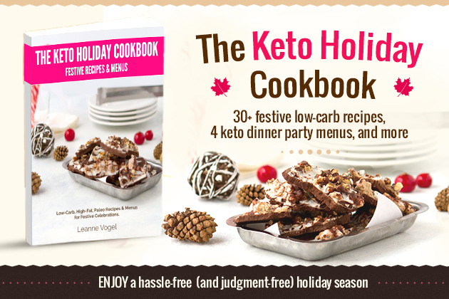 Keto Holiday Cookbook #ketogenicdiet #keto #lowcarb